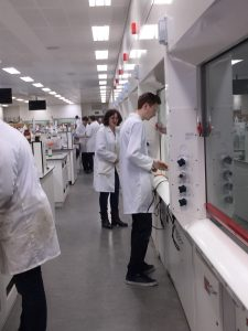 Medical research experience in college