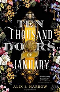 Ten Thousand Doors of January Book Cover