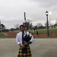bagpiping in college